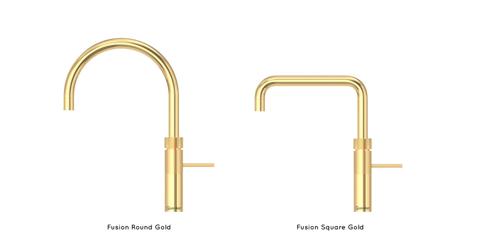 Quooker Fusion Gold Taps
