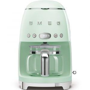 Smeg DCF01PGUK Freestanding Retro Drip Coffee Machine – PASTEL GREEN