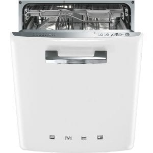 Smeg DI6FABWH Integrated Retro Style Dishwasher – WHITE