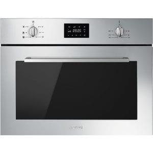 Smeg SF4400MCX Cucina Built In Combination Microwave – STAINLESS STEEL