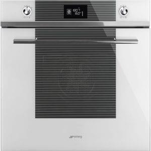 Smeg SF6102TVBG Linea Multifunction Single Oven – WHITE