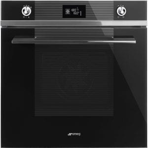 Smeg SF6102TVNG Linea Multifunction Single Oven – BLACK