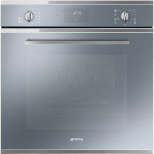 Smeg SF6400TVS Cucina Multifunction Single Oven – SILVER