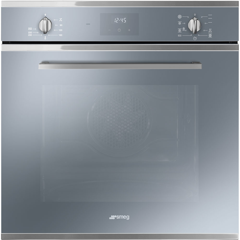 Smeg SF6400TVS Cucina Multifunction Single Oven - SILVER - Appliance ...