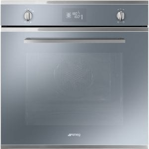 Smeg SF6402TVS Cucina Multifunction Single Oven – SILVER