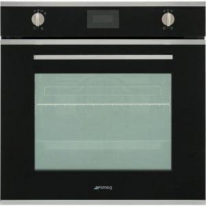 Smeg SFP6401TVN Cucina Pyrolytic Multifunction Single Oven – BLACK