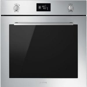 Smeg SFP6402TVX Cucina Pyrolytic Multifunction Single Oven – STAINLESS STEEL