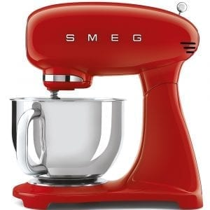 Smeg SMF03RDUK Retro Stand Mixer – RED