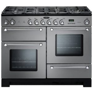 Rangemaster KCH110NGFSS/C Kitchener 110cm Gas Range Cooker – STAINLESS STEEL