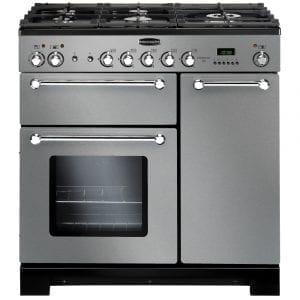 Rangemaster KCH90NGFSS/C Kitchener 90cm Gas Range Cooker – STAINLESS STEEL