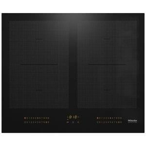 Miele KM6329 62cm Four Zone PowerFlex Induction Hob – BLACK