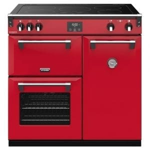 Stoves RICHMOND DX S900EICBHJA Richmond 900mm Induction Range Cooker – RED