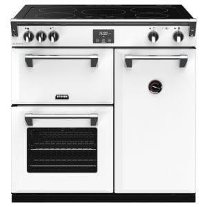 Stoves RICHMOND DX S900EICBIBR Richmond 900mm Induction Range Cooker – WHITE