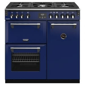 Stoves RICHMOND DX S900GCBMGA Richmond 900mm Gas Range Cooker – BLUE