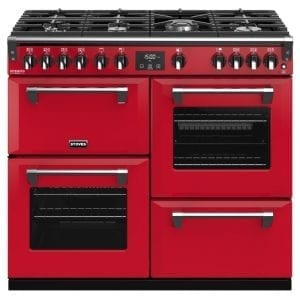 Stoves RICHMOND DX S1000GCBHJA Stoves Richmond 1000mm Gas Range – RED