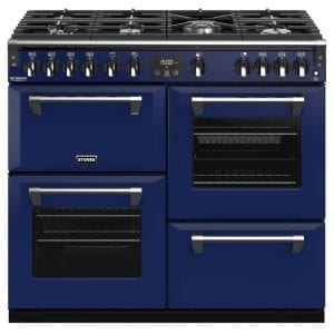 Stoves RICHMOND DX S1000GCBMGA Stoves Richmond 1000mm Gas Range – BLUE