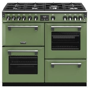 Stoves RICHMOND DX S1000GCBSGR Stoves Richmond 1000mm Gas Range – GREEN
