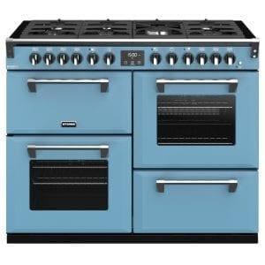 Stoves RICHMOND DX S1100DFCBDAB Richmond 1100mm Dual Fuel Cooker – BLUE