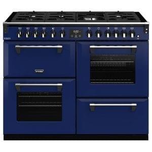 Stoves RICHMOND DX S1100DFCBMGA Richmond 1100mm Dual Fuel Cooker – BLUE