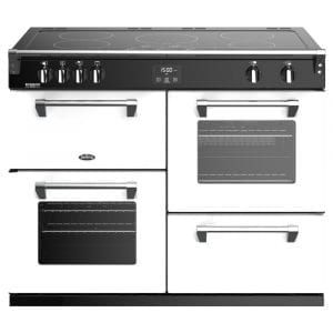 Stoves RICHMOND DX S1100EICBIBR Richmond 1100mm Induction Cooker – WHITE