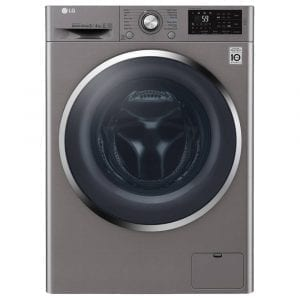 LG F4J6AM2S 8kg Direct Drive Washer Dryer – GRAPHITE