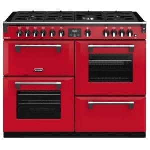 Stoves RICHMOND DX S1100GCBHJA Stoves Richmond 1100mm Gas Range – RED
