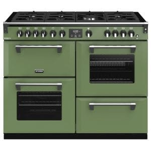 Stoves RICHMOND DX S1100GCBSGR Stoves Richmond 1100mm Gas Range – GREEN