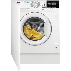 Zanussi Z816WT85BI 8kg Fully Integrated Washer Dryer – WHITE
