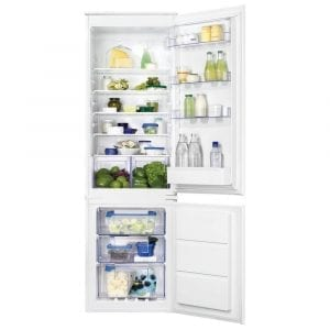 Zanussi ZBB28651SV 178cm Integrated 70/30 Frost Free Fridge Freezer