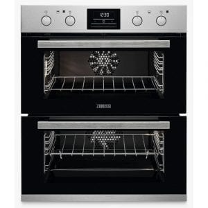 Zanussi ZOF35802XK Built Under Multifunction Double Oven