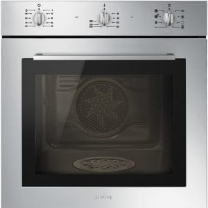 Smeg SF64M3DX Cucina Direct Steam Multifunction Single Oven – STAINLESS STEEL