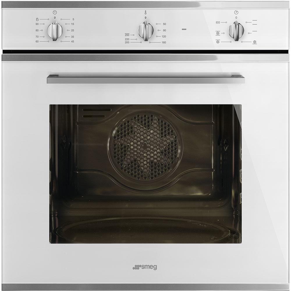 Smeg SF64M3VB Cucina Multifunction Single Oven - WHITE - Appliance City