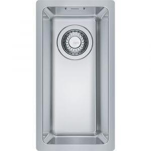 Franke MRX210-19 Maris Bowl Single Bowl Sink Complete – STAINLESS STEEL