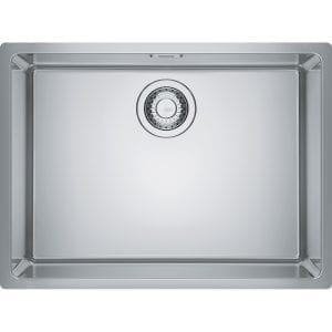 Franke MRX110-55 Maris Single Bowl Undermount Sink – STAINLESS STEEL