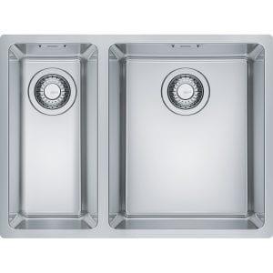 Franke MRX160 34-19 LHSB Maris 1.5 Bowl Undermount Sink Left Hand Small Bowl – STAINLESS STEEL