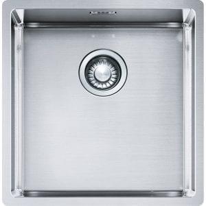 Franke BXX110-40 Box Single Bowl Undermount Sink – STAINLESS STEEL