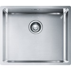 Franke BXX110-50 Box Single Bowl Undermount Sink – STAINLESS STEEL