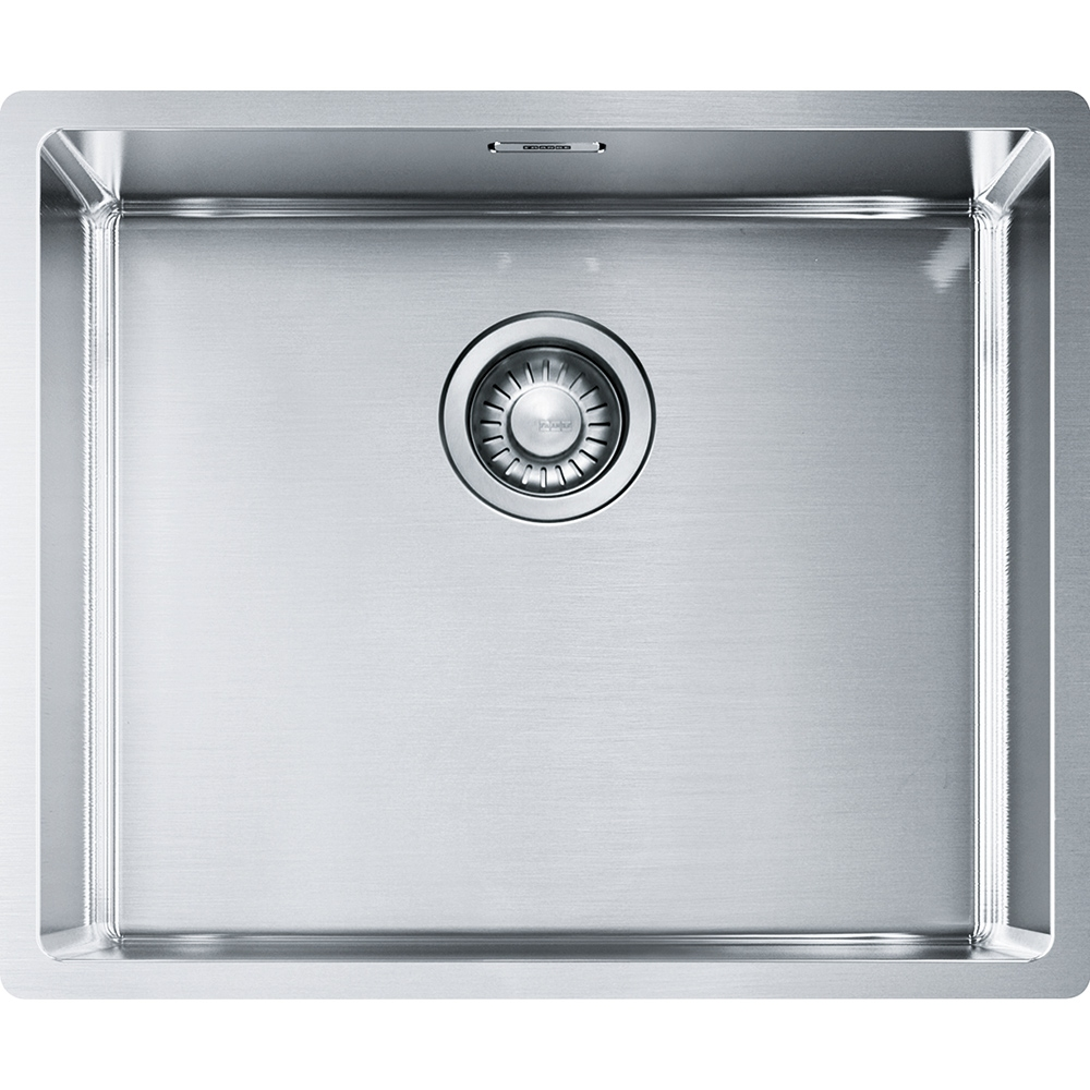 Image of Franke BXX110-50 Box Single Bowl Undermount Sink - STAINLESS STEEL