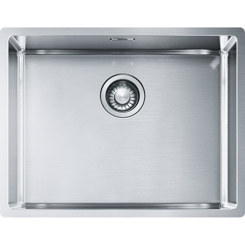 Image of Franke BXX110-54 Box Single Bowl Undermount Sink - STAINLESS STEEL