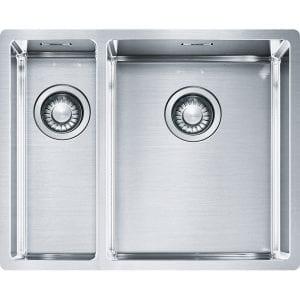 Franke BXX160 34-16 Box 1.5 Bowl Undermount Sink Left Hand Small Bowl – STAINLESS STEEL