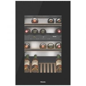 Miele KWT6422IGOBBL 88cm Integrated In Column Wine Cooler – BLACK