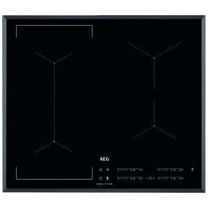 AEG IKE64441FB 60cm 4 Zone MaxiSense Induction Hob – BLACK