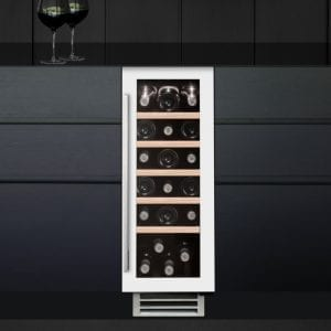 Caple WI3124WH 30cm Undercounter Wine Cooler – WHITE