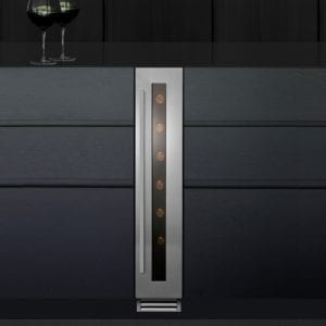 Caple WI157 15cm Freestanding Undercounter Wine Cooler – STAINLESS STEEL