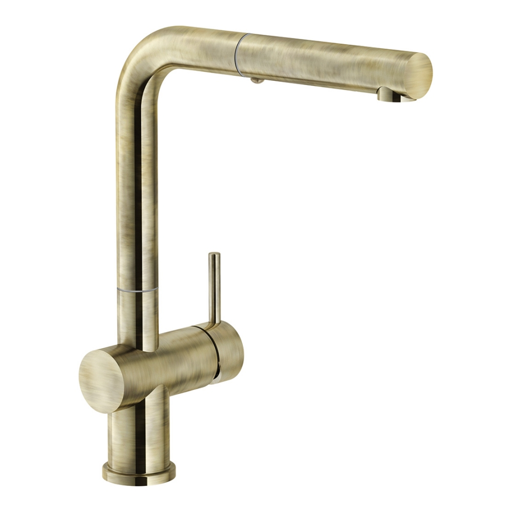 Image of Franke ACTIVE PLUS PULL-OUT SPRAY BR Active Plus Pull-Out Spray Tap - BRASS
