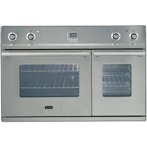 Ilve D900WE3I 90cm Wide Built In Double Oven – STAINLESS STEEL