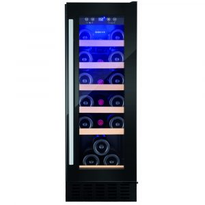 Amica AWC300BL 30cm Freestanding Under Counter Wine Cooler – BLACK