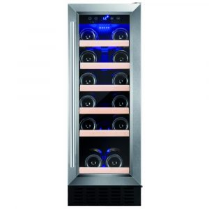 Amica AWC300SS 30cm Freestanding Under Counter Wine Cooler – STAINLESS STEEL