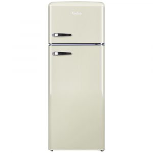 Amica FDR2213C 55cm Retro Fridge Freezer – CREAM