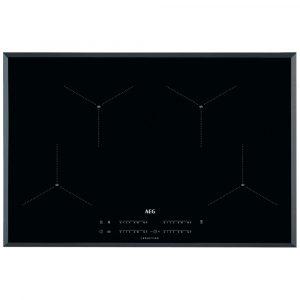 AEG IAE84411FB 80cm 4 Zone MaxiSense Induction Hob – BLACK